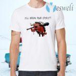 Kaido I Will Break Your Spirit T-Shirts