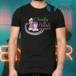 Kamala Harris Chucks and Pearls Aka Sorority 1908 T-Shirts
