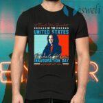 Kamala Harris First Female Vice President Biden Harris 2021 Inauguration Day T-Shirts