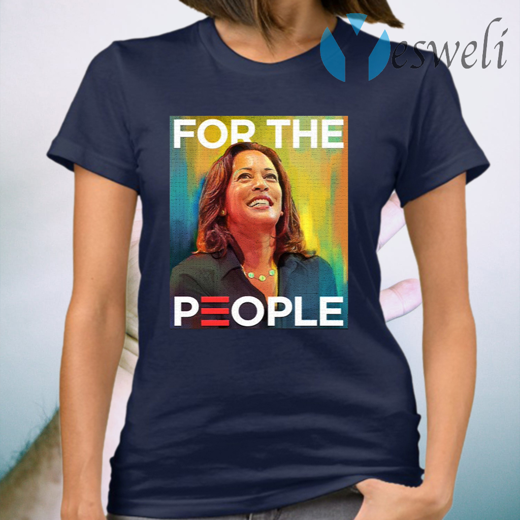 Kamala Harris For The People Water Color Mr Vice President T-Shirt
