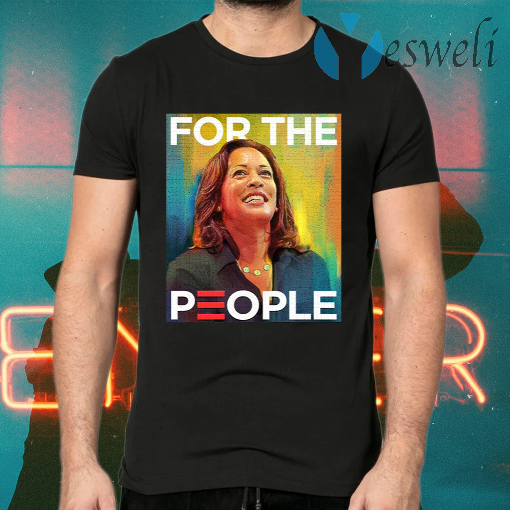 Kamala Harris For The People Water Color Mr Vice President T-Shirts