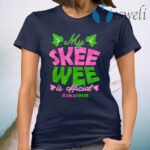 Kamala Harris My Skee Wee Is Official Aka Sorority 1908 T-Shirt