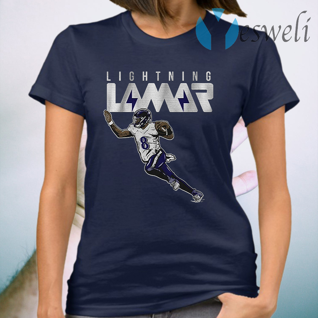Lightning lamar T-Shirt
