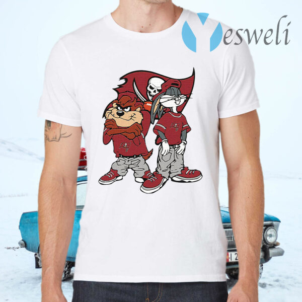 Looney Tunes Hip Hop Tampa Bay Buccaneers T-Shirt