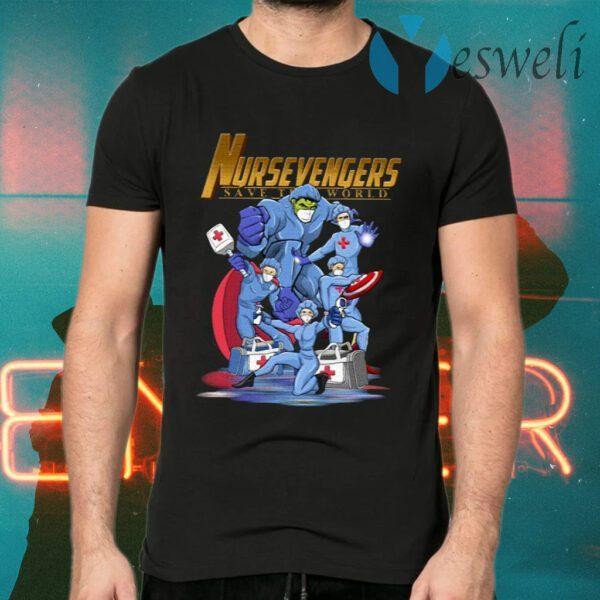 Nursevengers Save The World T-Shirt