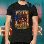 Personalized Veteran American Flag Eagle T-Shirts