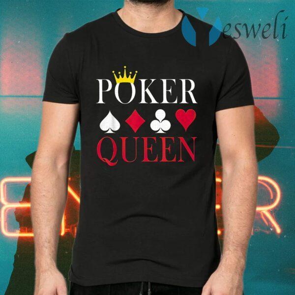 Poker Queen T-Shirts