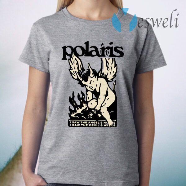 Polaris Merch I Saw The Angels House I Saw The Devil's Wings T-Shirt