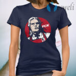 Premium The Witcher Geralt of Rivia FCK KFC T-Shirt