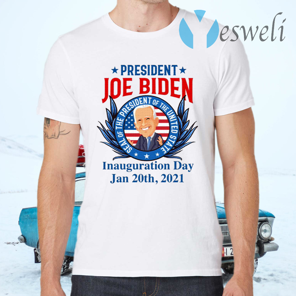 President Joe Biden Seal Of The President Of The United Inauguration Day T-Shirts
