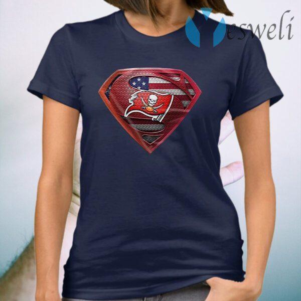 Superman Tampa Bay Buccaneers T-Shirt