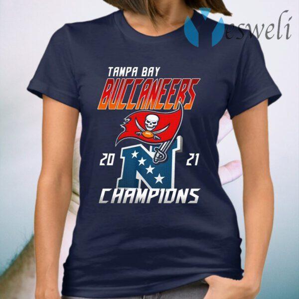 Tampa Bay Buccaneers 2021 Champions T-Shirt