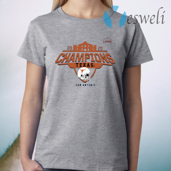 Texas Longhorns 2020 Alamo Bowl Champions T-Shirt