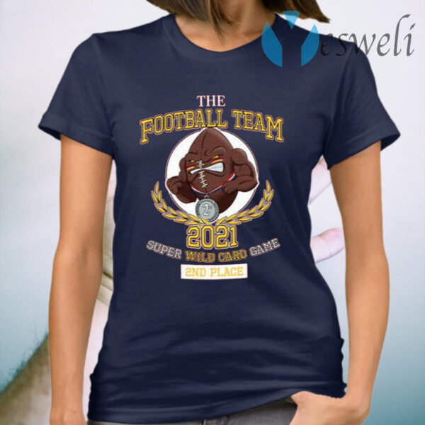 The Football Team 2021 Super Wild Card Game 2nd Place T-Shirt