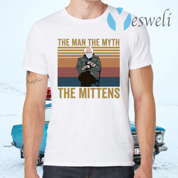 The Man the Myth the Mittens T-Shirt