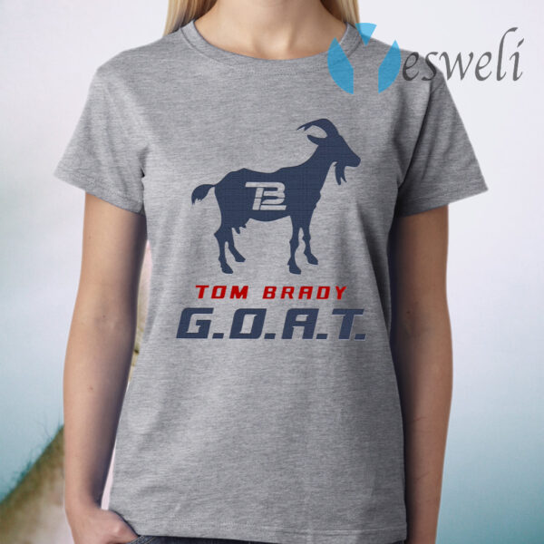 Tom Brady Goat T-Shirt