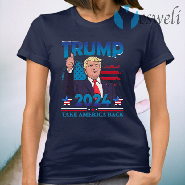 Trump 2024 Take America Back T-Shirt