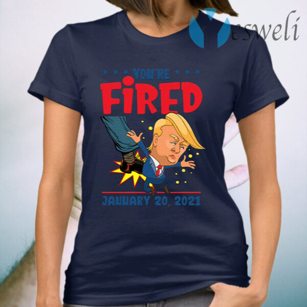 Trump You're Fired 46th President Inauguration Day 2021 T-Shirt