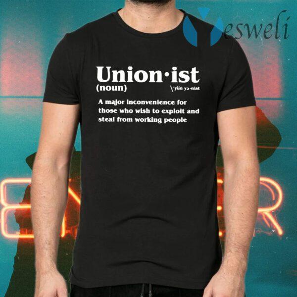 Unionist Definition T-Shirts