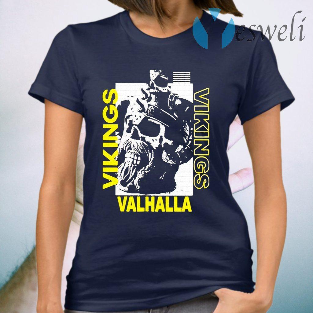 Vikings Yule Valhalla T-Shirt