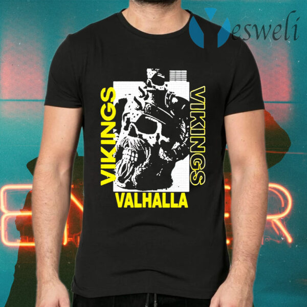 Vikings Yule Valhalla T-Shirts
