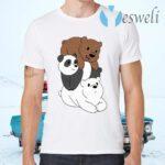 We Bare Bears T-Shirts