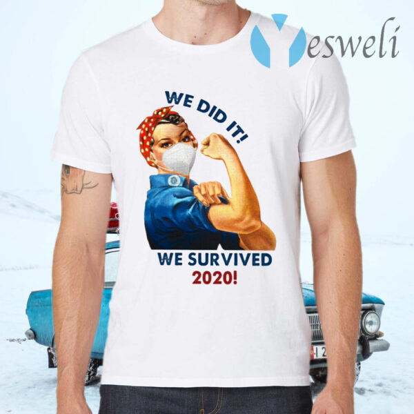 We Did It We Survived Ceramic Coffee T-Shirts
