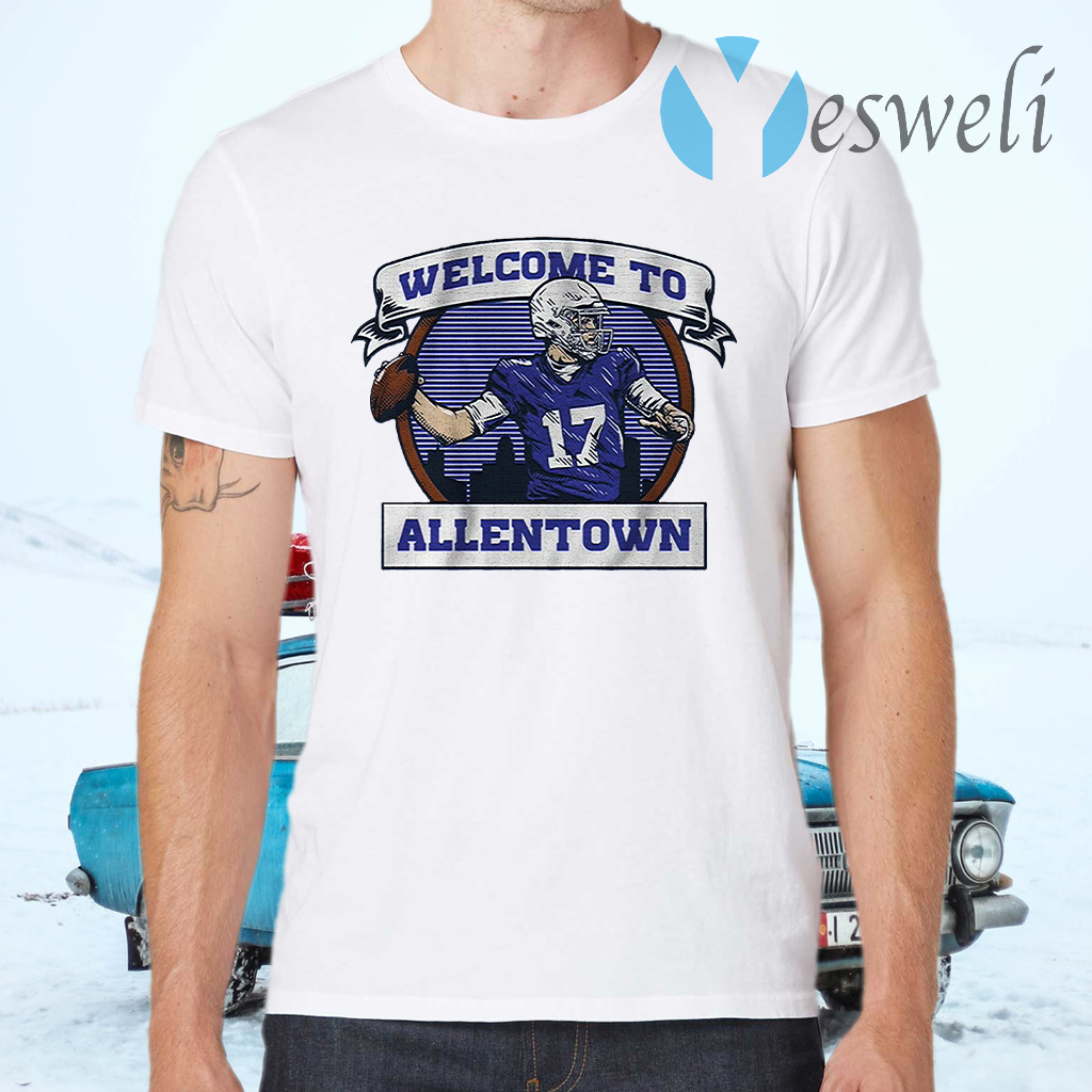 Welcome to allentown T-Shirts