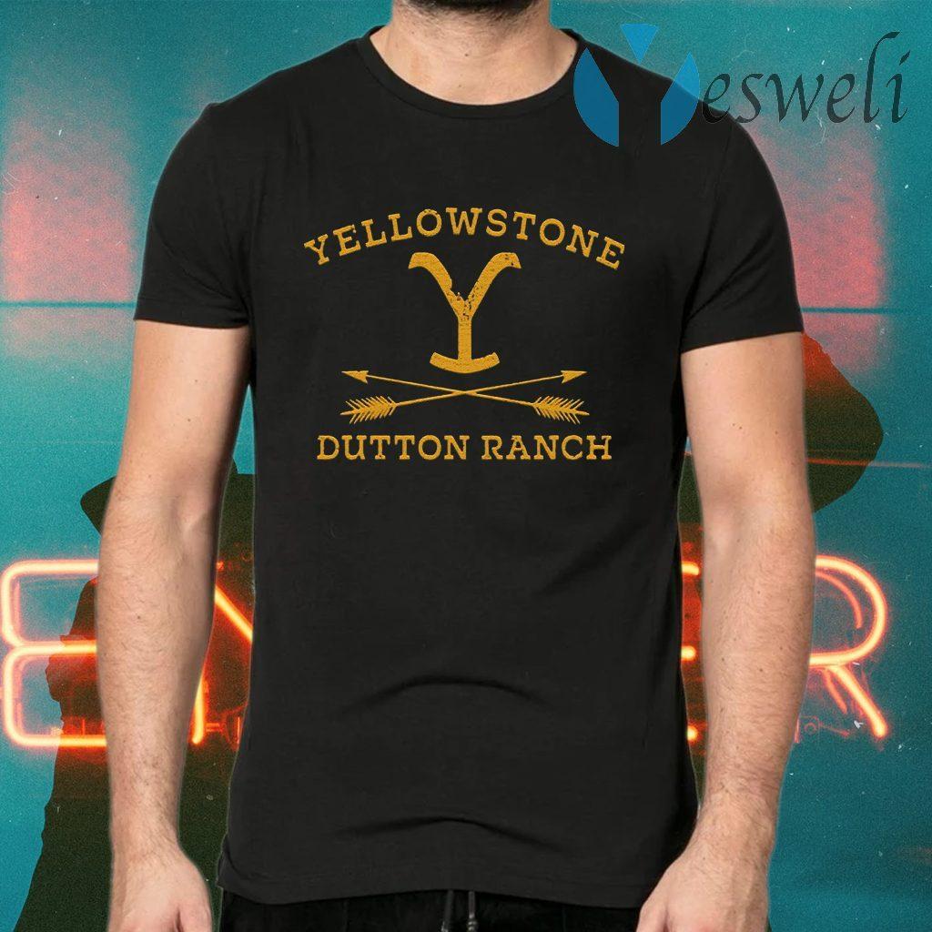 Yellowstone Dutton Ranch Arrow T-Shirts