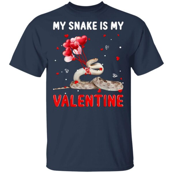 My Snake Is My Valentine Apparel Animals Lover T-Shirt