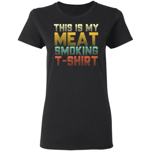 This Is My Meat Smoking Vintage T-Shirt
