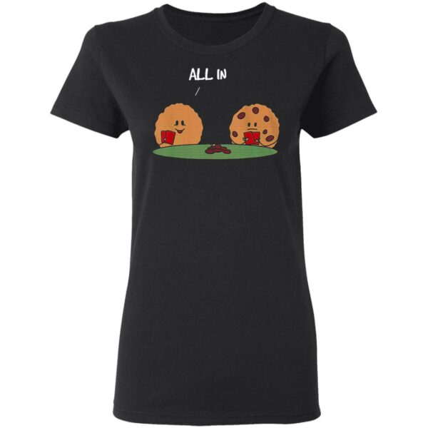 Poker All In Cookie T-Shirt