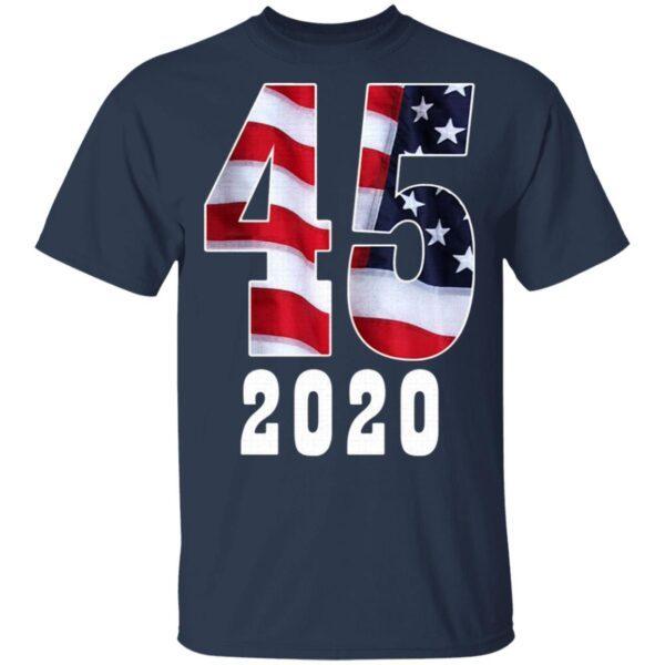 45th President Donald Trump 2020 T-Shirt