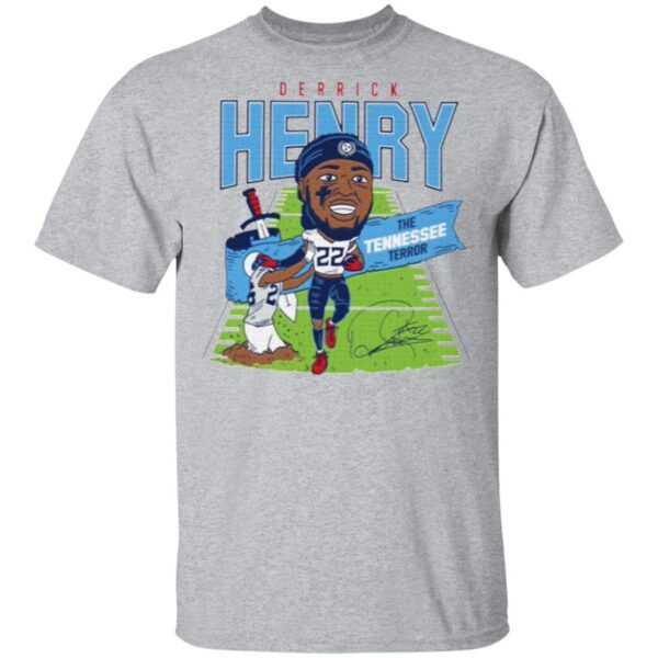 Derrick Henry Caricature Throwback T-Shirt