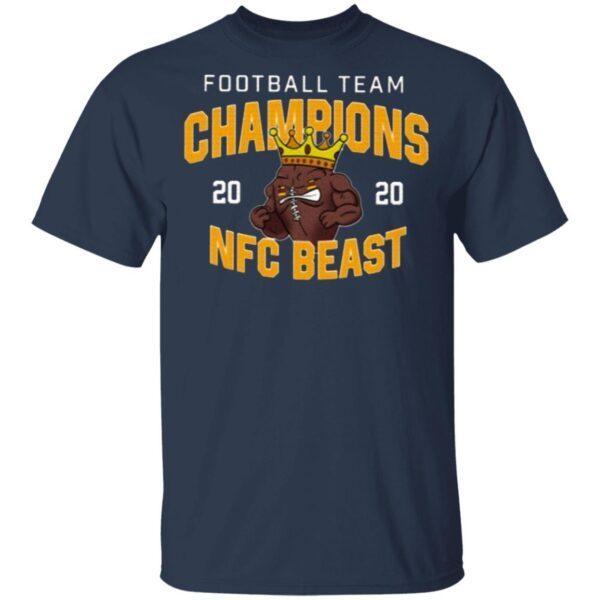 Washington Football Team NFC Beast Champs 2020 T-Shirt