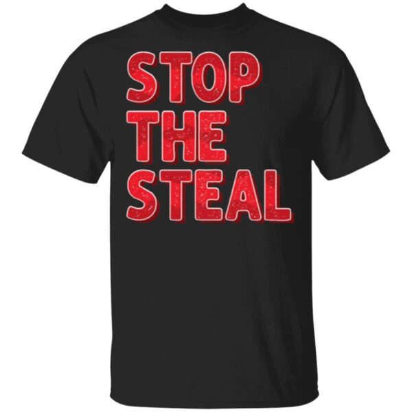 Stop The Steal Trump 2020 Voter Fraud Election T-Shirt