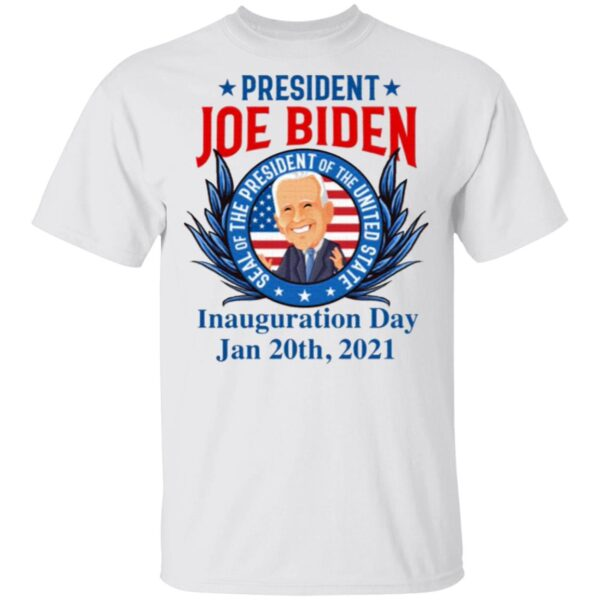 President Joe Biden Seal Of The President Of The United Inauguration Day T-Shirt