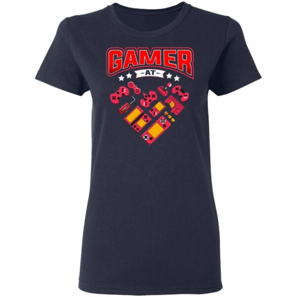 Video Gamer At Heart T-Shirt