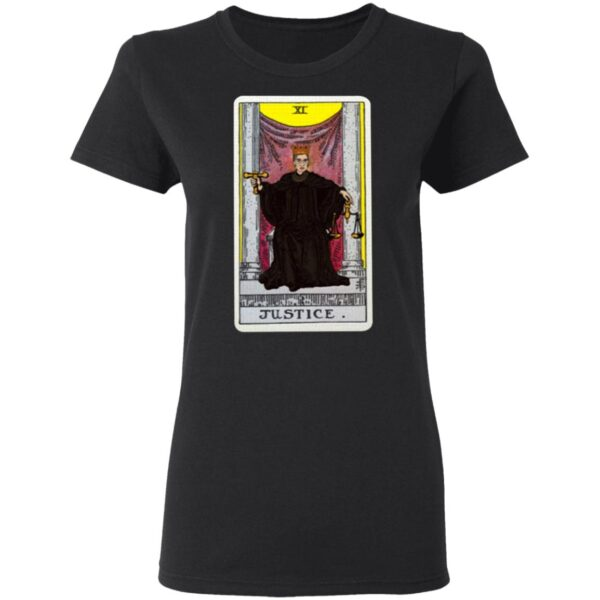 RBG Justice Card T-Shirt