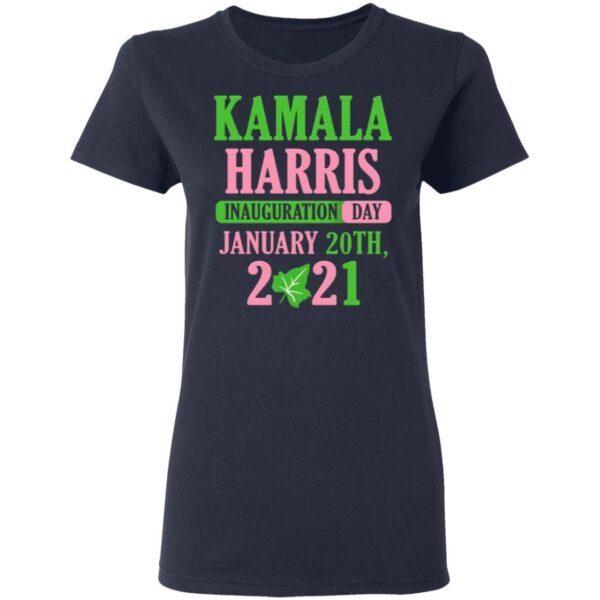 Kamala Harris Inauguration Day 2021 Green And Pink T-Shirt