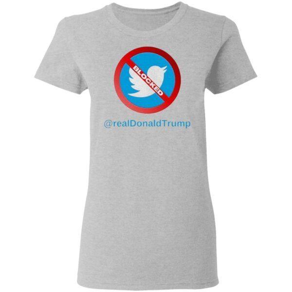 Twitter Donald Trump Account Suspende T-Shirt