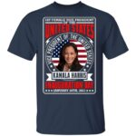 First Female Vice President Of The United States Kamala Harris Inauguration Day January 20th 2021 T-Shirt