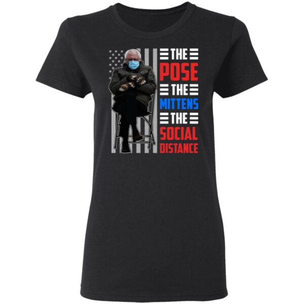 The Pose The Mittens The Social Distance T-Shirt