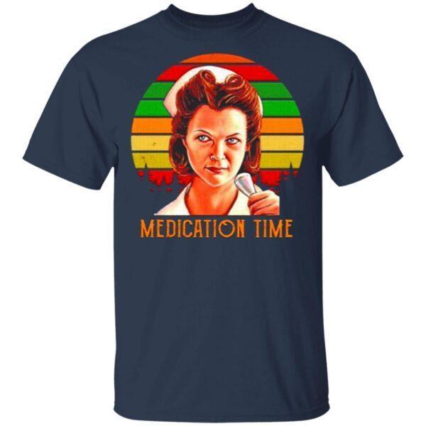 Nurse Ratched Medication time vintage T-Shirt