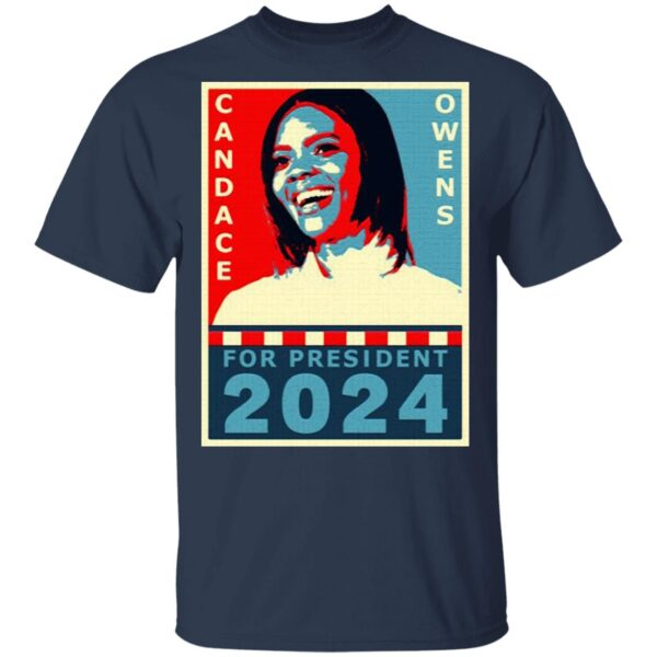 Candace Owens for President 2024 T-Shirt