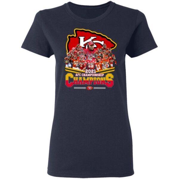 Chiefs AFC Championship 2021 T-Shirt
