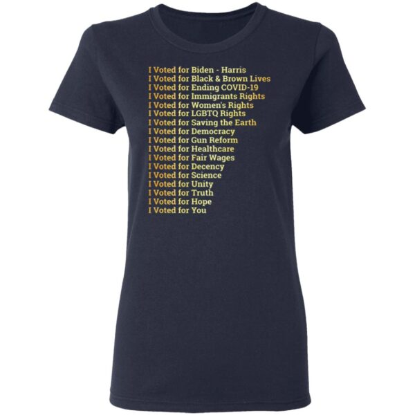 Vote for LGBTQ Social Justice T-Shirt