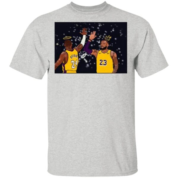 Lebron James And Kobe Bryant Signature Thanks For The Memories T-Shirt