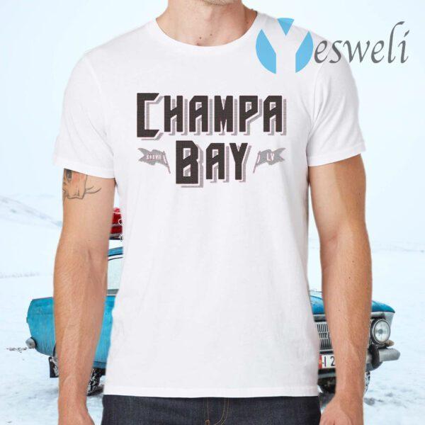 Champa bay football T-Shirt