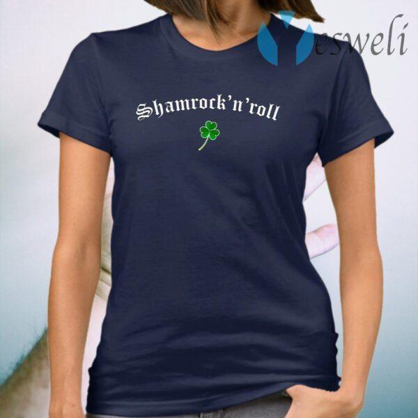 Clover Shamrock N Roll Saint Patrick's Day T-Shirt